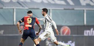 Scamacca Bentancur Genoa-Juventus