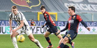Pellegrini De Ligt Genoa