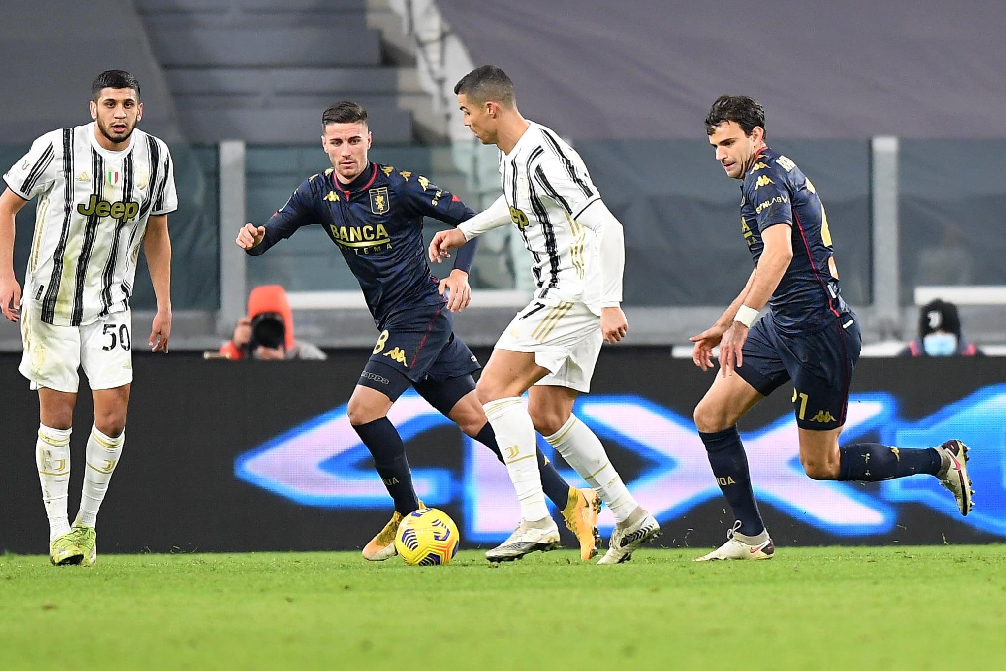 Ronaldo Ghiglione Radovanovic Juventus-Genoa