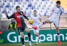 Strootman Simeone Genoa-Cagliari
