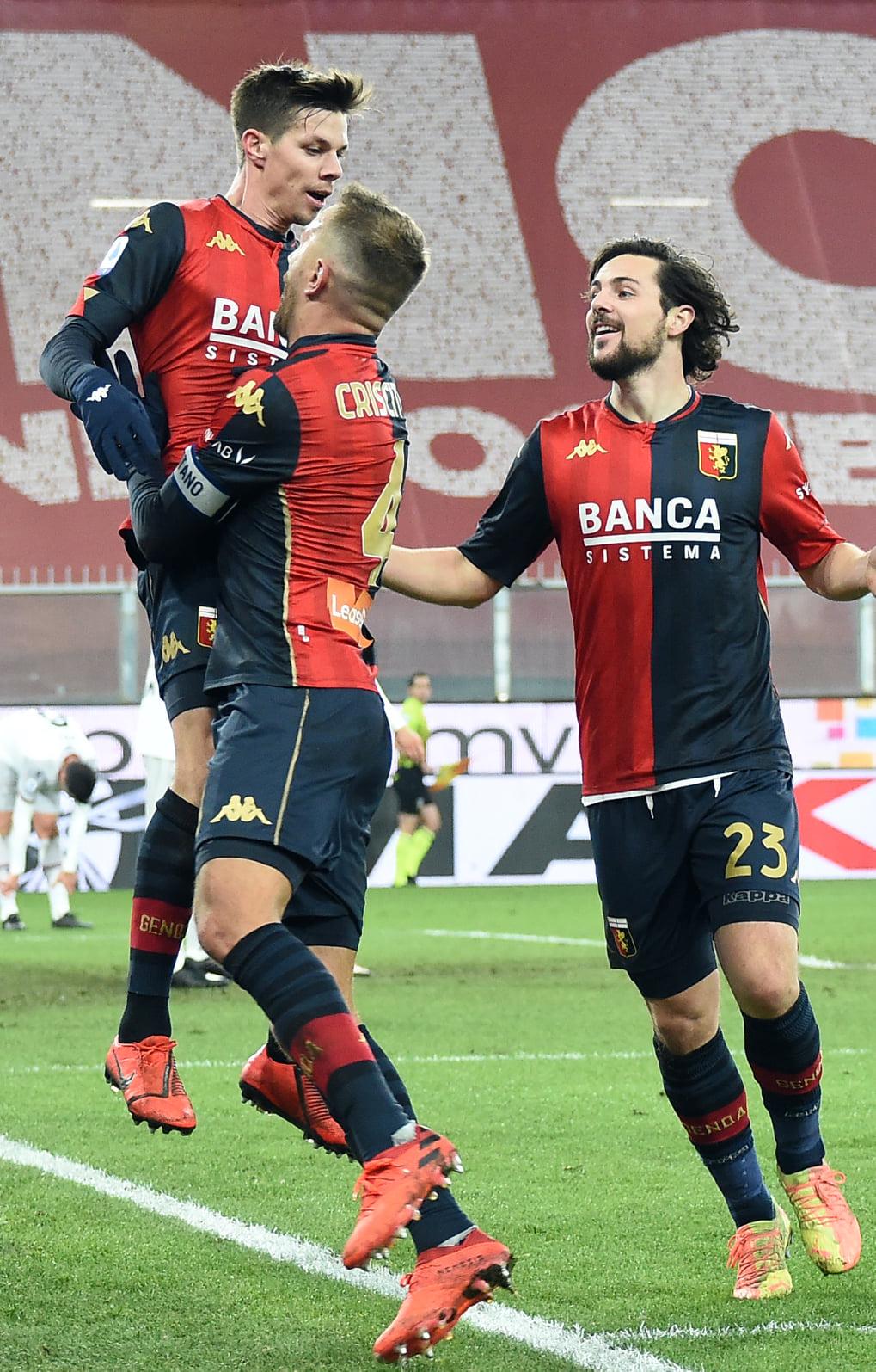 Zajc Criscito Destro Genoa