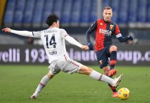 Criscito Tomiyasu Genoa