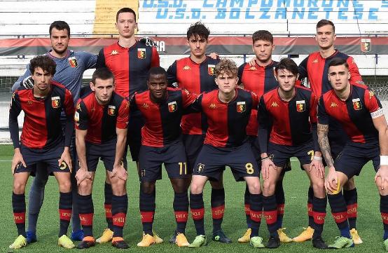 Genoa-Inter Spal-Genoa-Roma-Empoli Sassuolo-Genoa Cagliari-Genoa Primavera 2020-2021