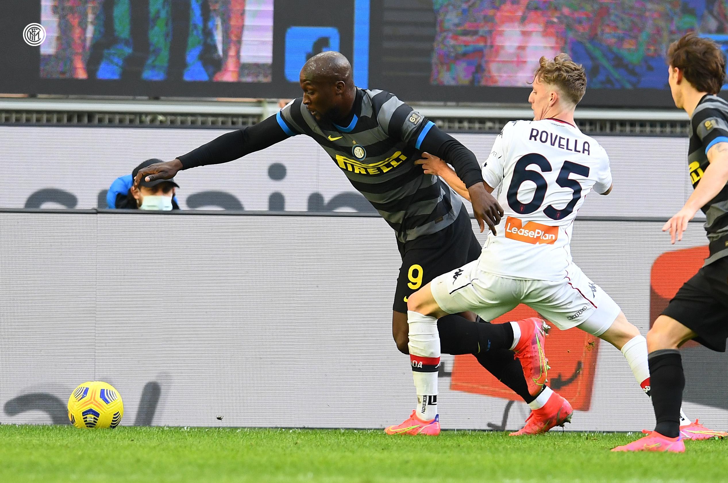 Lukaku Rovella Inter-Genoa