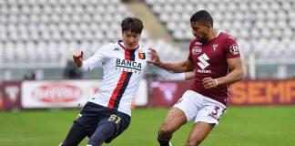 Shomurodov Bremer Torino-Genoa