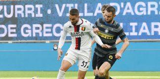 Pjaca de Vrij Inter-Genoa