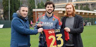 Marroccu Destro Biondini Genoa