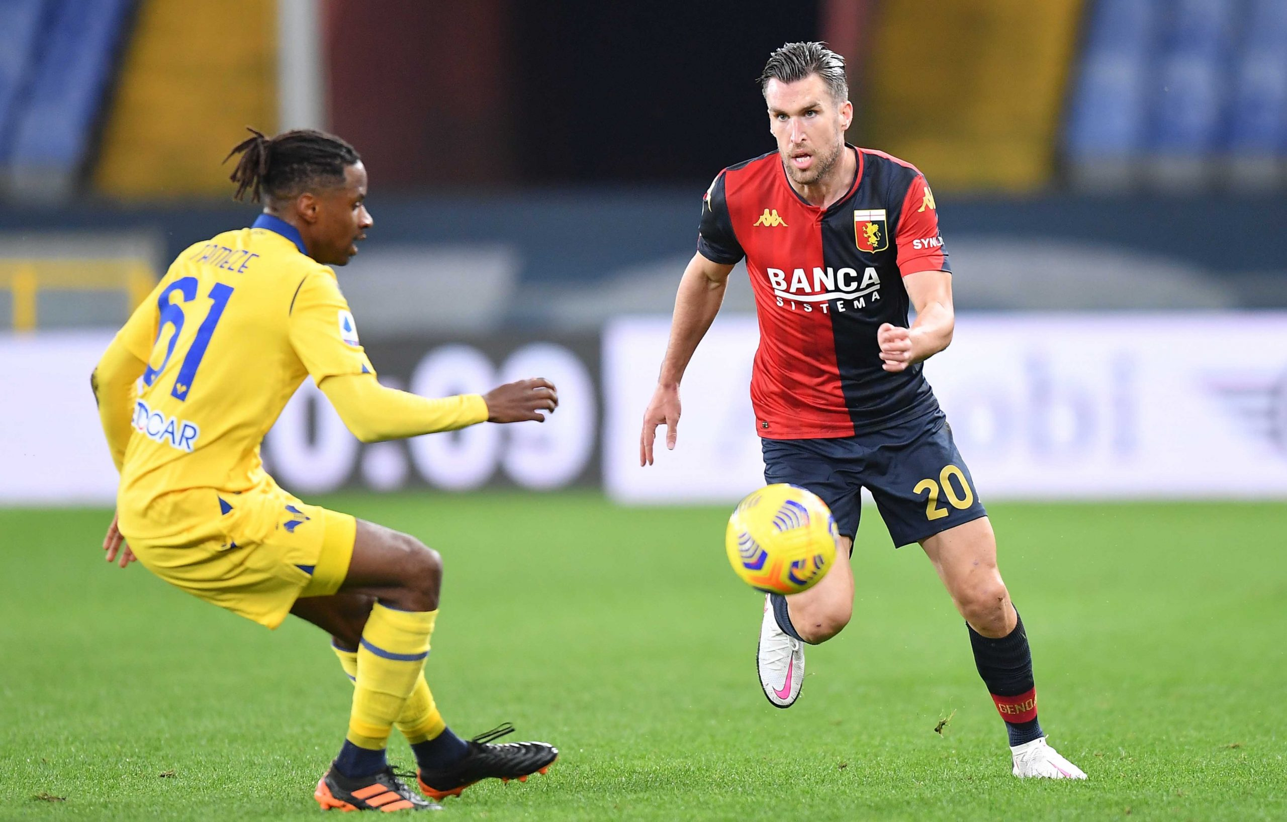 Strootman Tameze Genoa-Hellas Verona
