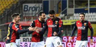 Scamacca Genoa Zajc Zappacosta Strootman