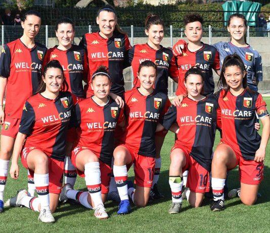 Grifoncine Genoa-Torino femminile 2020-2021