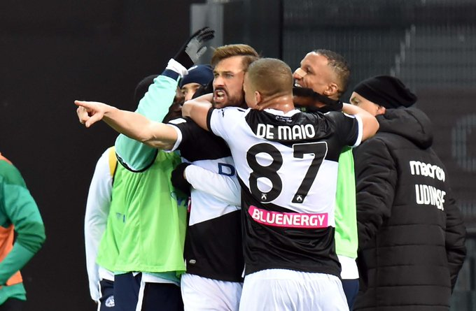 Llorente Udinese Serie A