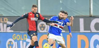 Pjaca Tonelli Genoa-Sampdoria