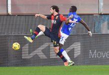 Destro Colley Genoa-Sampdoria