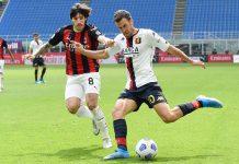 Tonali Strootman Milan-Genoa