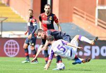 Badelj Strootman Bonaventura Genoa-Fiorentina