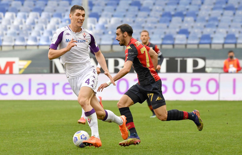 Zappacosta Milenkovic Genoa-Fiorentina
