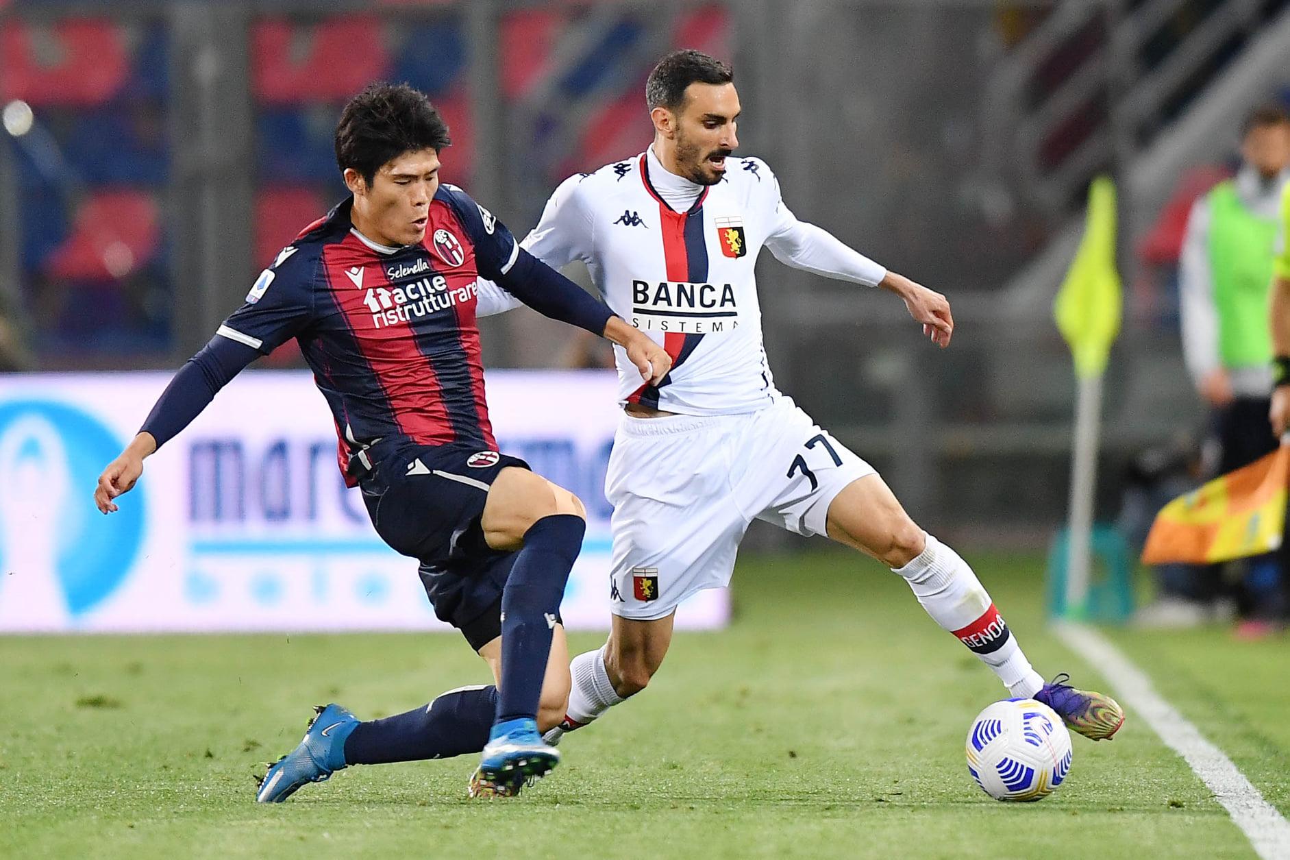 Zappacosta Tomiyasu Genoa