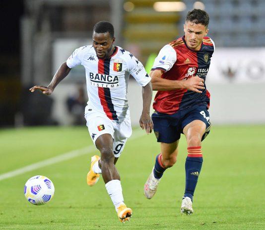 Kallon Carboni Cagliari-Genoa