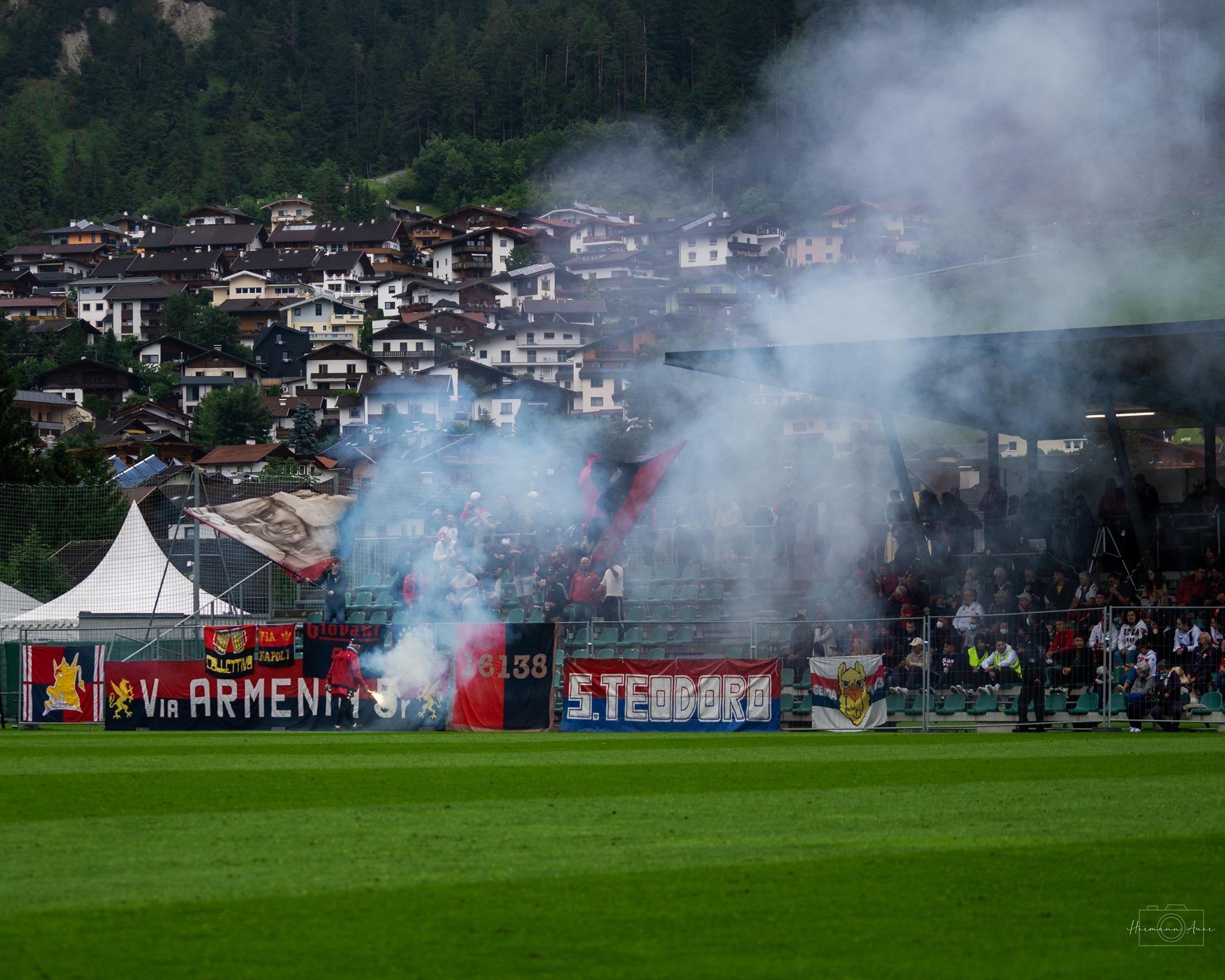 Genoa Genoani tifosi Neustift