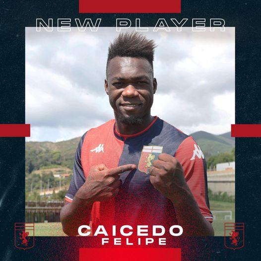 Caicedo Genoa