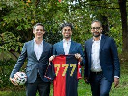 Arciniegas, Wander e Blazquez Genoa 777 Partners