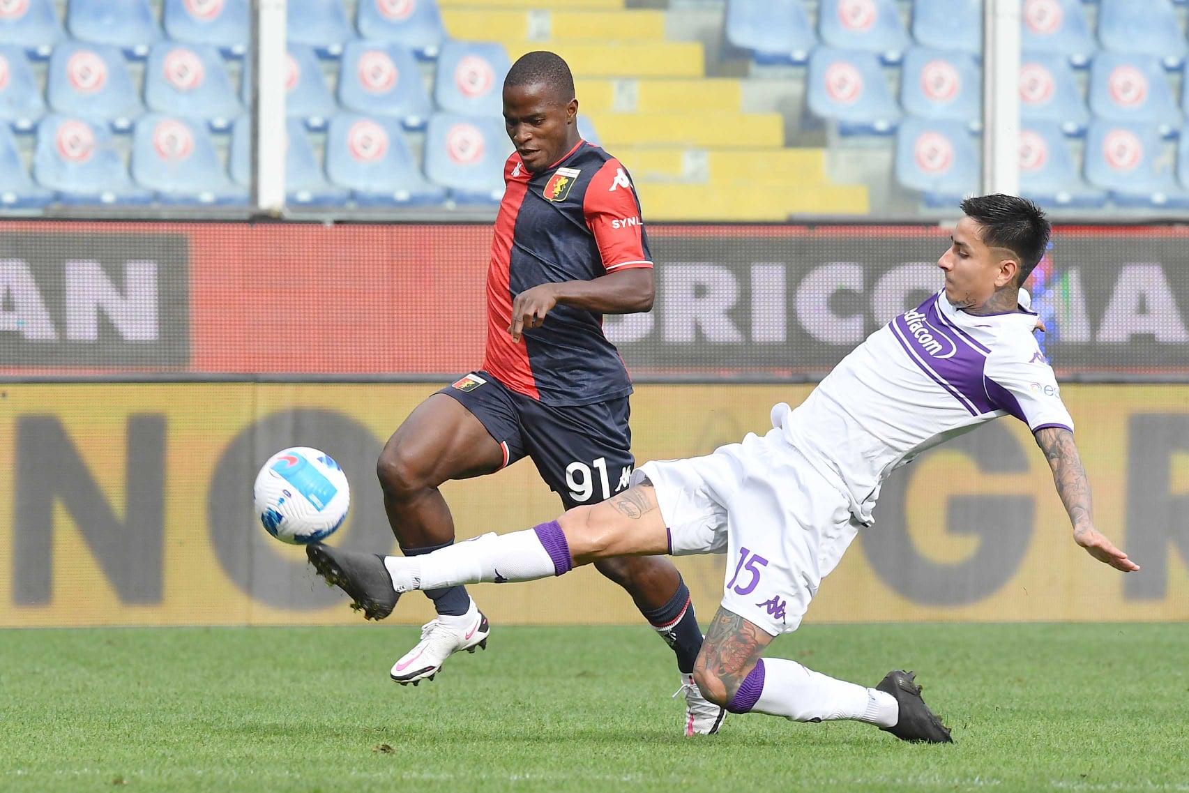 Kallon Pulgar Genoa-Fiorentina