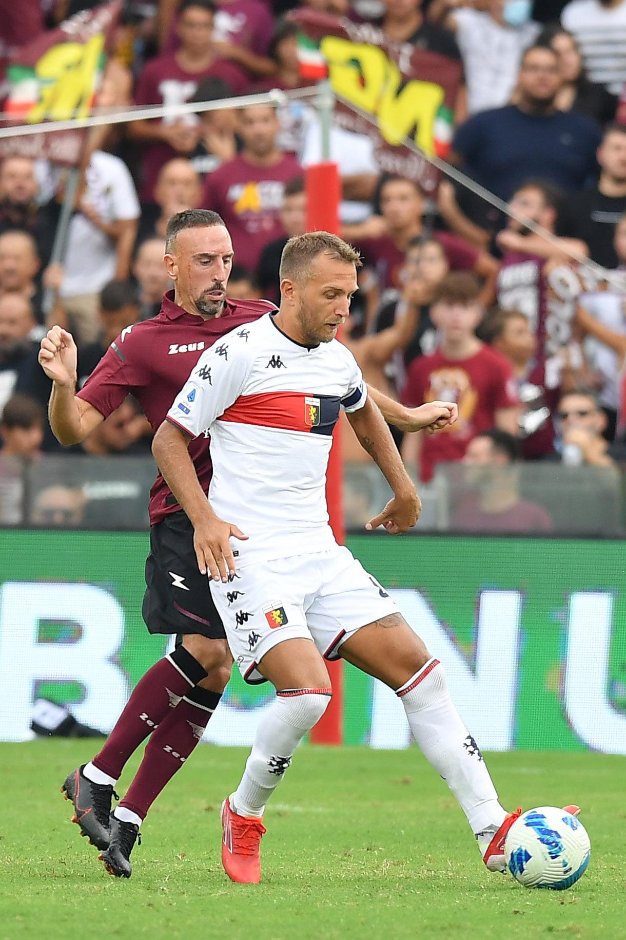 Criscito Ribery Genoa