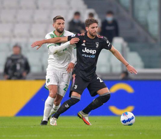 Berardi Locatelli Juventus-Sassuolo
